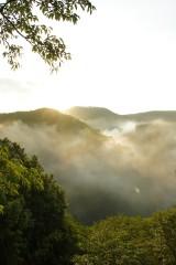 山の空・朝焼け4