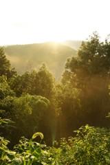 山の空・朝焼け3