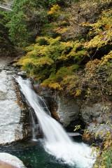 秋 滝(みたらい渓谷)