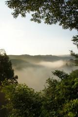 山の空・朝焼け2