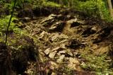 崩れた岩盤1