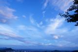 広い空(青強調)