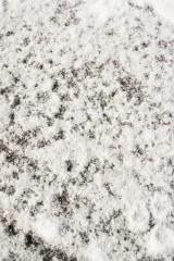 雪の積もった地面