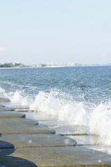 海岸・波しぶき1