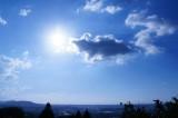 高台から見た空(青強調)
