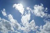 空・太陽光・雲