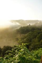 山の空・朝焼け5