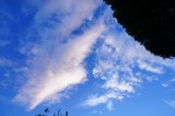 青空と雲(青強調)